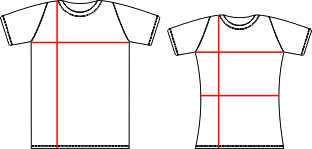 Women's t-shirts sizes online calculator